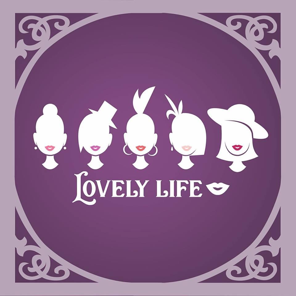 Lovely Life Lips Logo